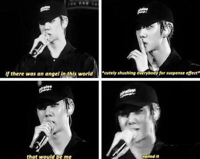 Sehun's confident level =  #HappySehunDay pic.twitter.com/VSV1MJNfo7