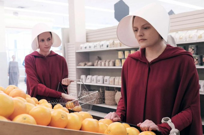 Cute pic of me shopping for my Pence inauguration brunch