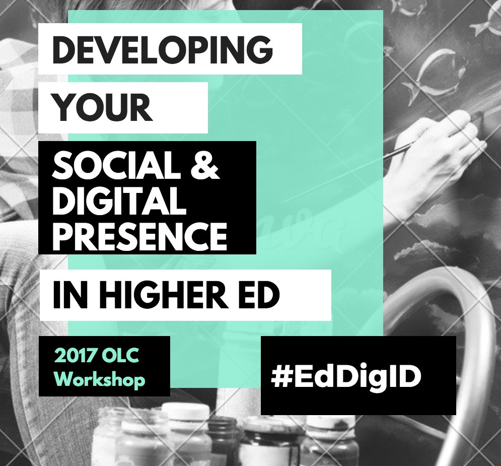 Join the #EdDigID TWITTER CHAT tomorrow, Friday (5/19) 1-2 pm CT. TOPIC: Digital self: Being online & networked as a #highered staff/faculty https://t.co/XIaZ8LN75D