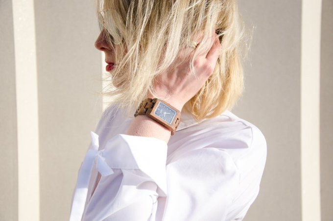 Outfit Post: Crisp White And Wooden Elements