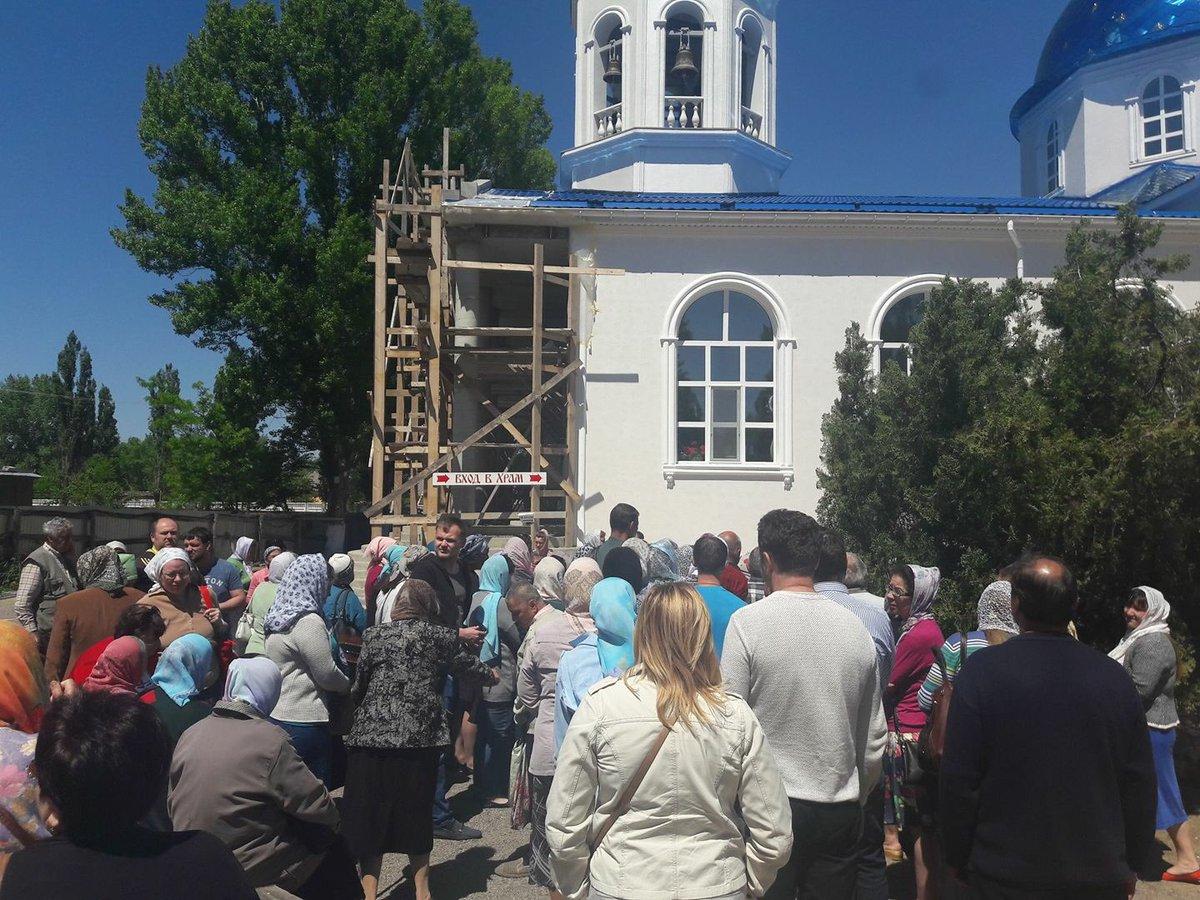 В Крыму наполнилось Белогорское водохранилище, люди опасаются за дамбу - Цензор.НЕТ 7764