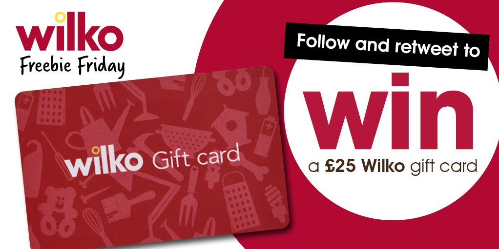 It&#39;s #Friyay! Get set for the #weekend with a £25 Wilko voucher. Simply FOLLOW and RT for a chance to #WIN #Competition<br>http://pic.twitter.com/GAHiLwEqrn
