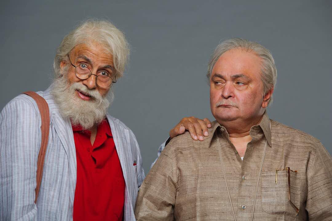 First Look of 102 Not Out starring Amitabh Bachchan, Rishi Kapoor