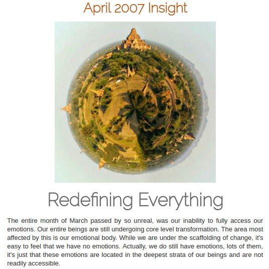 #Spiritual888 - 200704 #Insight Redefining Everything Our entire #beings are still undergoing #transformation Visit:  https:// spiritual888.jimdo.com/insight/2007/  &nbsp;  <br>http://pic.twitter.com/fOHXWQ23NK