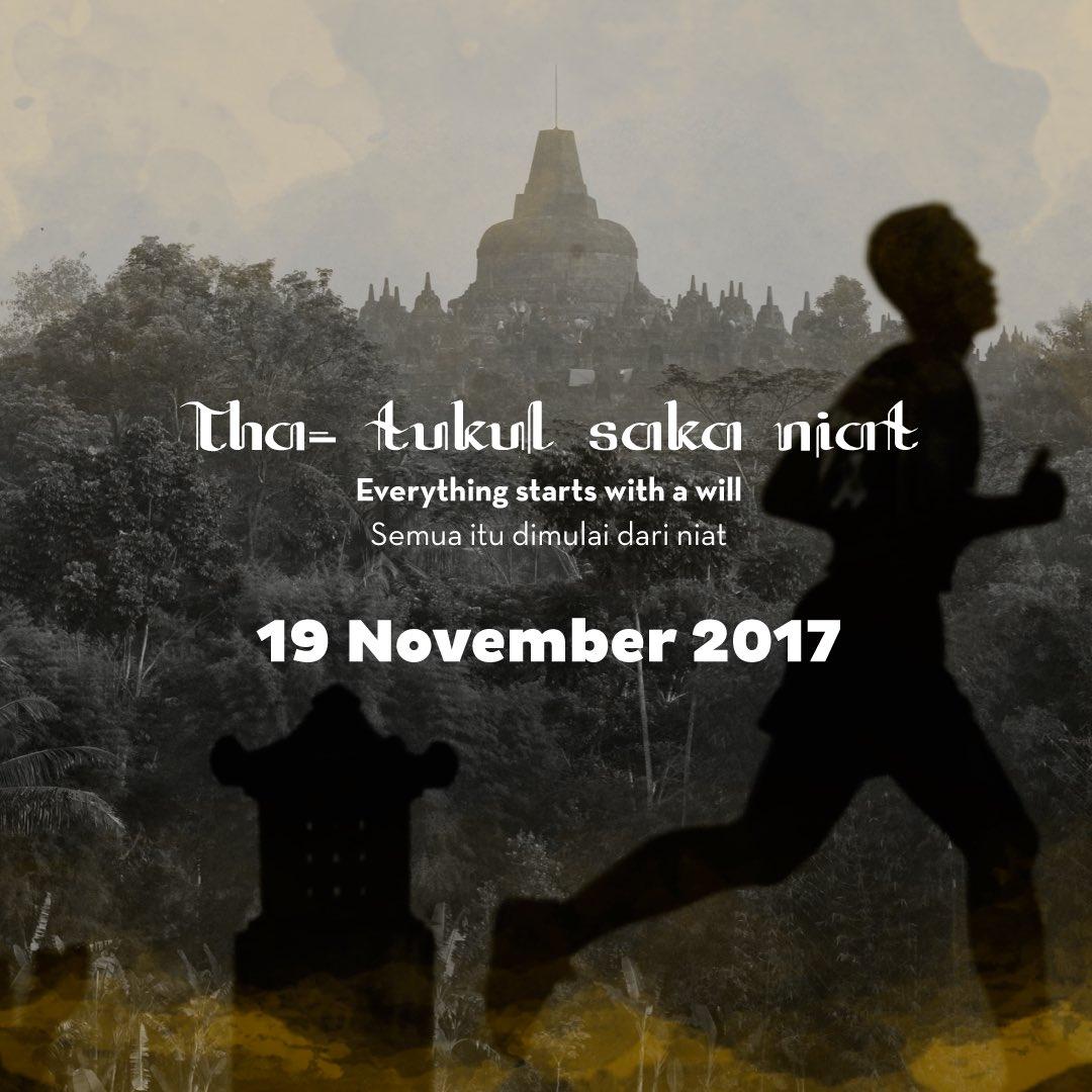 Borobudur Marathon • 2017