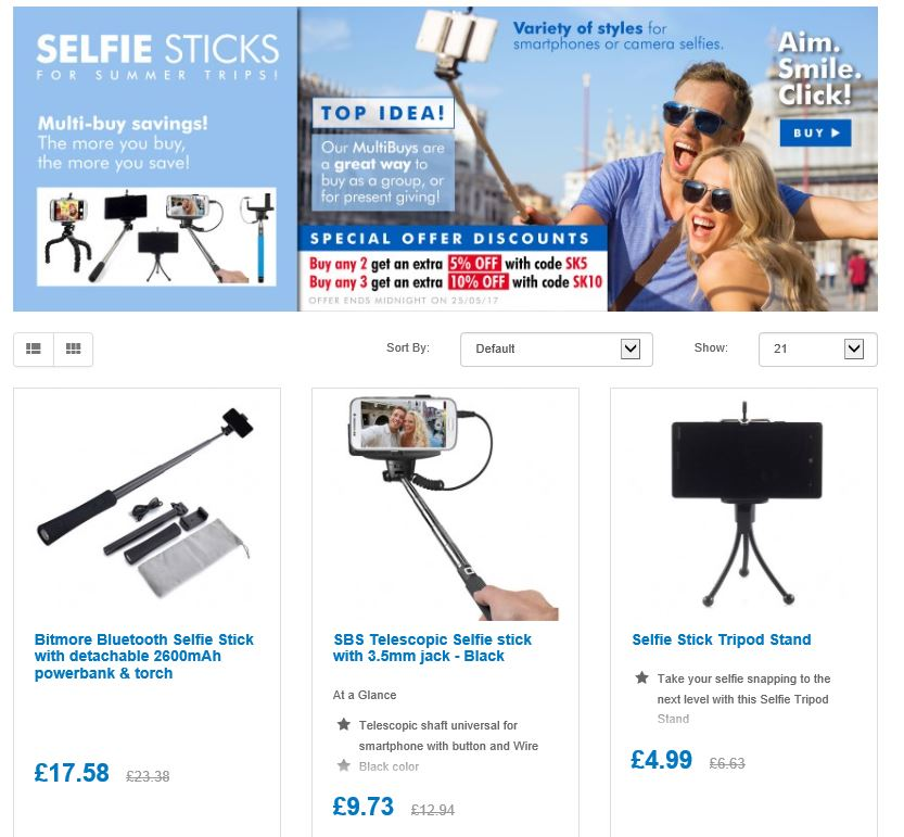 Summer is here, time 4 selfies  http:// ow.ly/v8pY30bQdRZ  &nbsp;   #RT #Follow #Win  @DailyDealsUK #Multibuy any 2/3 EXtra 5/10% off Save Share <br>http://pic.twitter.com/CJOMg3Q8Rx