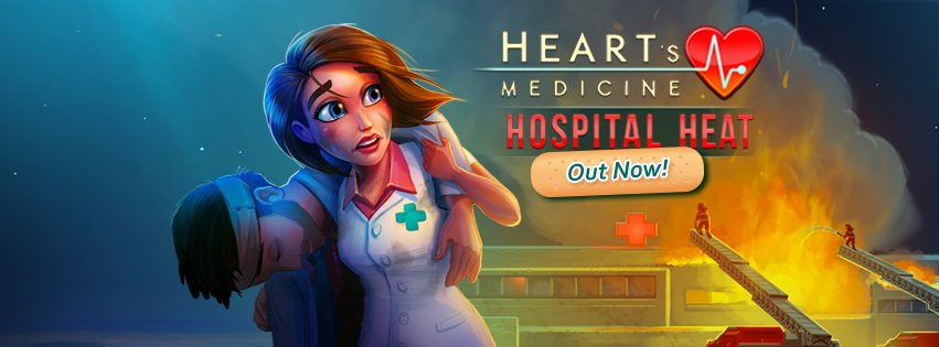 Heart's Medicine - Hospital Heat is here! Ready for a fiery hospital drama? PLAY NOW: https://t.co/R7zanwcsuH https://t.co/pkkgS5zDj5