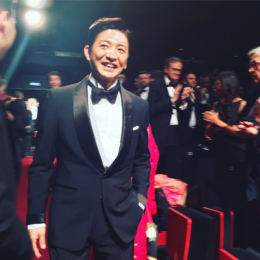 Takuya Kimura at the Blade of the Immortal #Cannes2017 World Premiere #Miike https://t.co/ZAuSItH4Jz