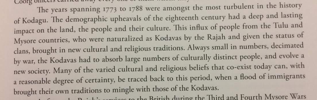 Vanishing kodavas marriage