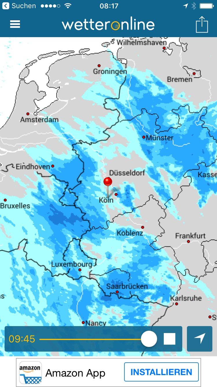 Hm. Aber es gibt kein schlechtes Wetter, nur schlechte... #wirziehnfallera https://t.co/EOsJjAr36s