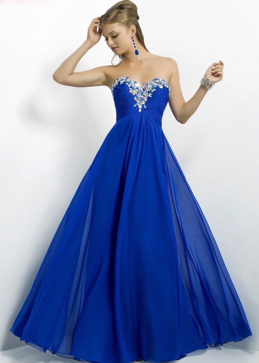 royal blue prom dresses - 600×911