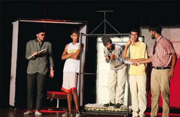 #Algeria: National colloquium on contributions of amateur theater to 4th #Algerian art, #Mostaganem   https://www. dzbreaking.com/2017/05/19/nat ional-colloquium-contributions-amateur-theater-4th-algerian-art-mostaganem/ &nbsp; … <br>http://pic.twitter.com/ozjV86SlUw