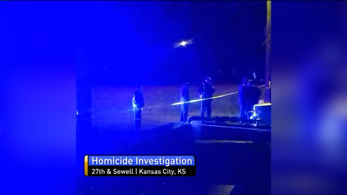 Kansas City: police are looking for someone who shot and killed a man just north of Quindaro Park