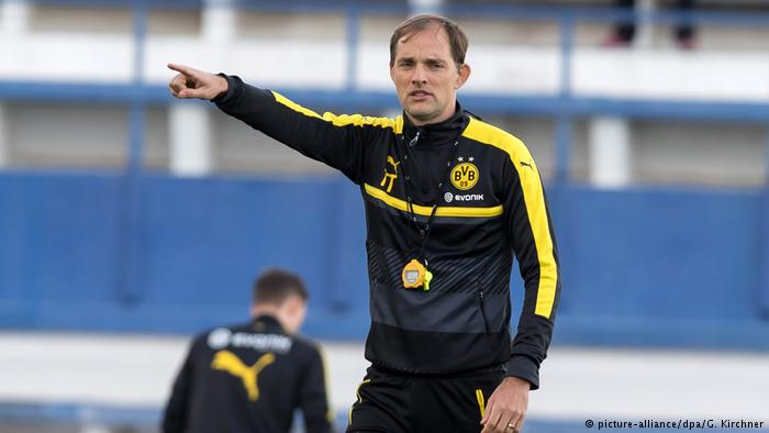 Thomas #Tuchel ahead of #bvbsvw and #dfbpokal final: &quot;We have two finals in a week, we&#39;re really looking forward to it!&quot;<br>http://pic.twitter.com/oc4TcpJcAl