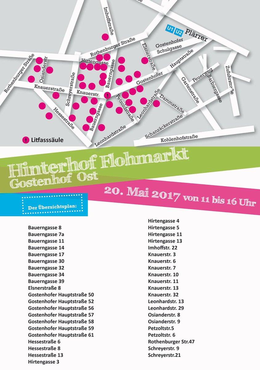 Barbara Zinecker On Twitter Morgen Ist Hinterhofflohmarkt