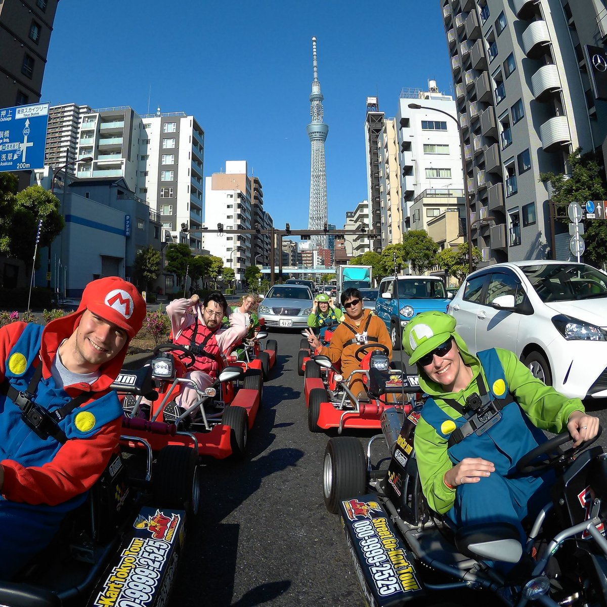 Super Mario Cart needs a Tokyo stage like this! #codejapantour https://t.co/dBlocQLdMr