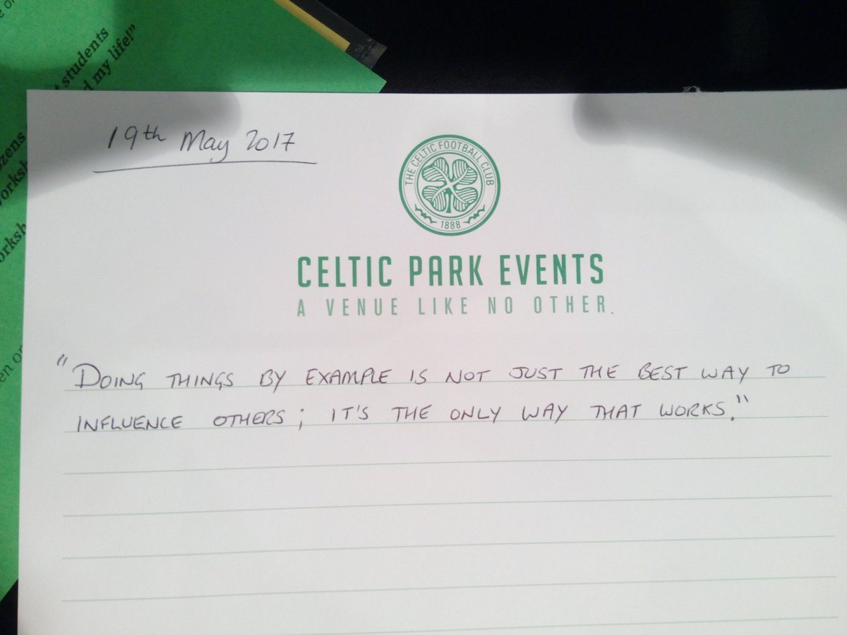 #GCCLTSec middle leaders day @celticfc #Glasgow<br>http://pic.twitter.com/RyUYDu0A7v