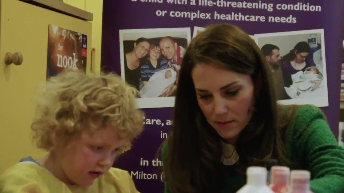 Watch The Duchess of Cambridge, @EACH_hospices Patron, speak about the inspiring work of UK Children's Hospices, for #ChildrensHospiceWeek