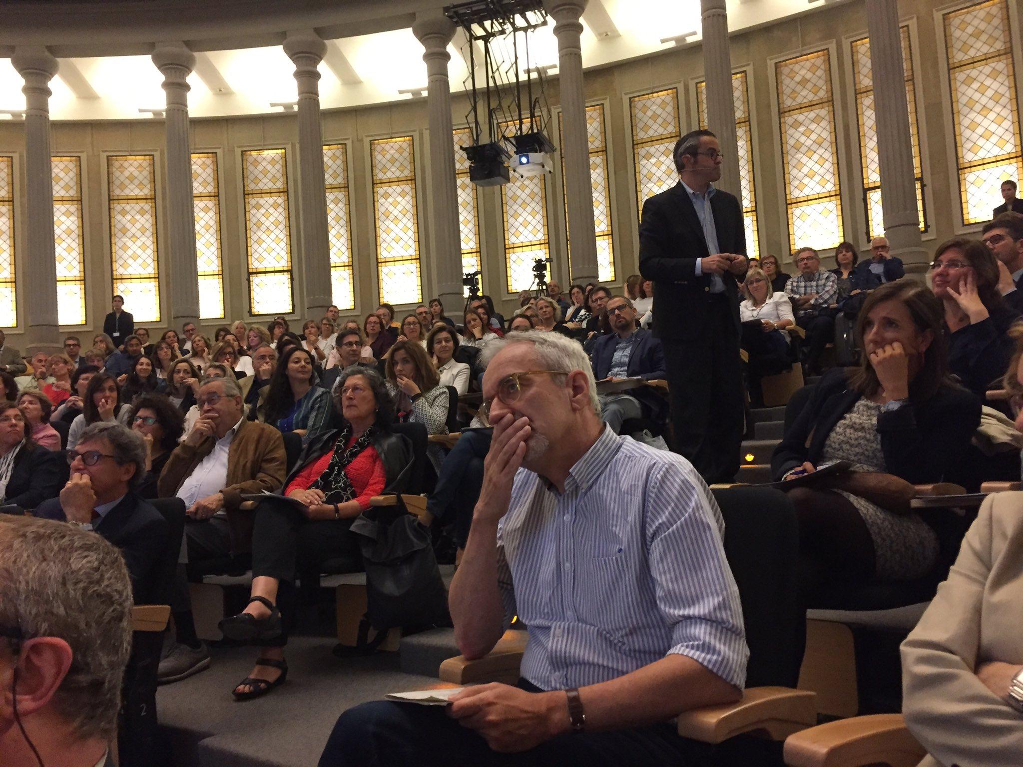 @vmontori en pleno debate de decisiones compartidas de la Jornada @gestiosanitaria @AQuAScat https://t.co/t4ZaOPmCfB