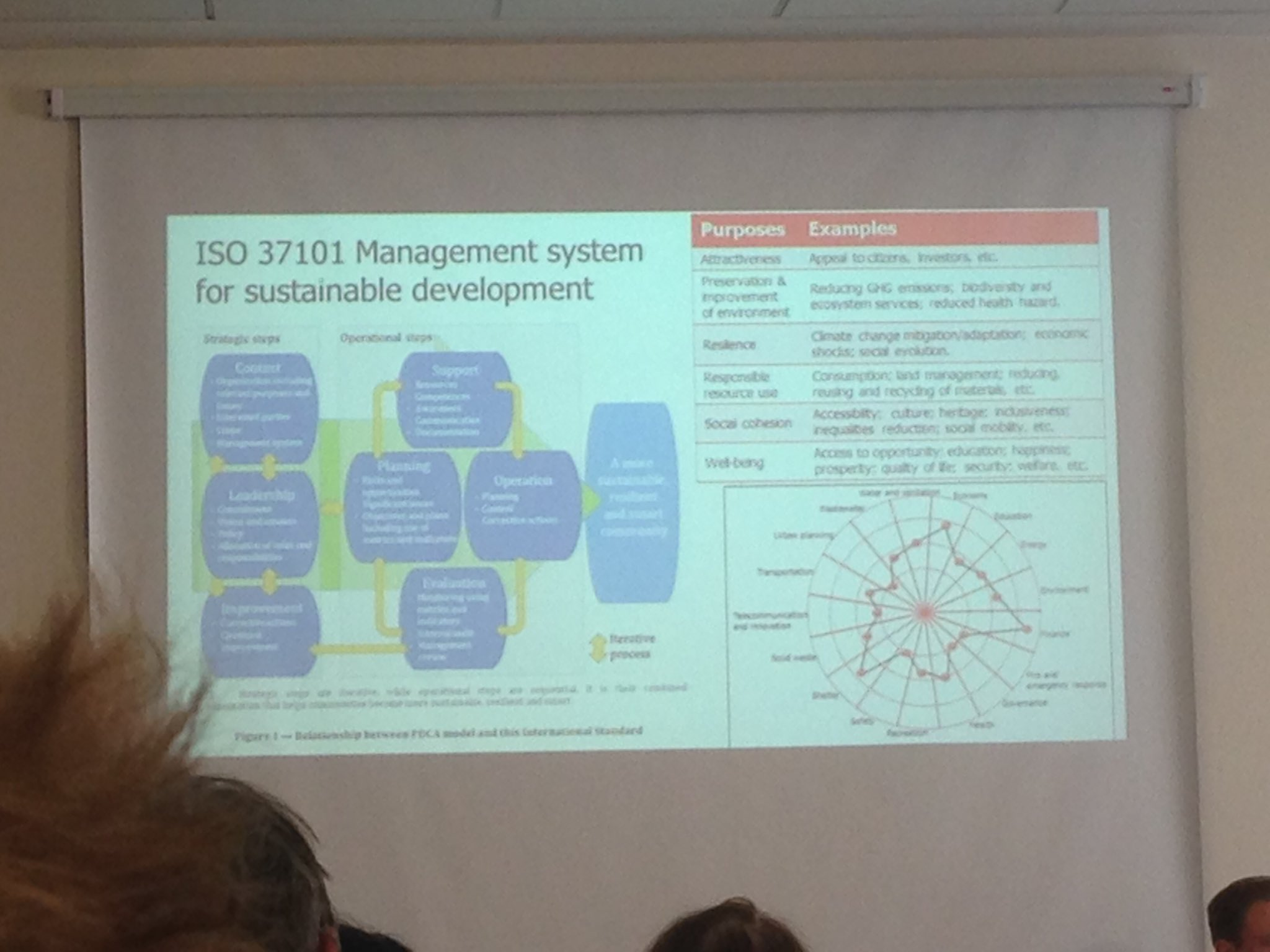 It is what you do with the standards that is important #DSFC17 @UrbanBigData #sustainabledevelopment https://t.co/5CBR385g5B