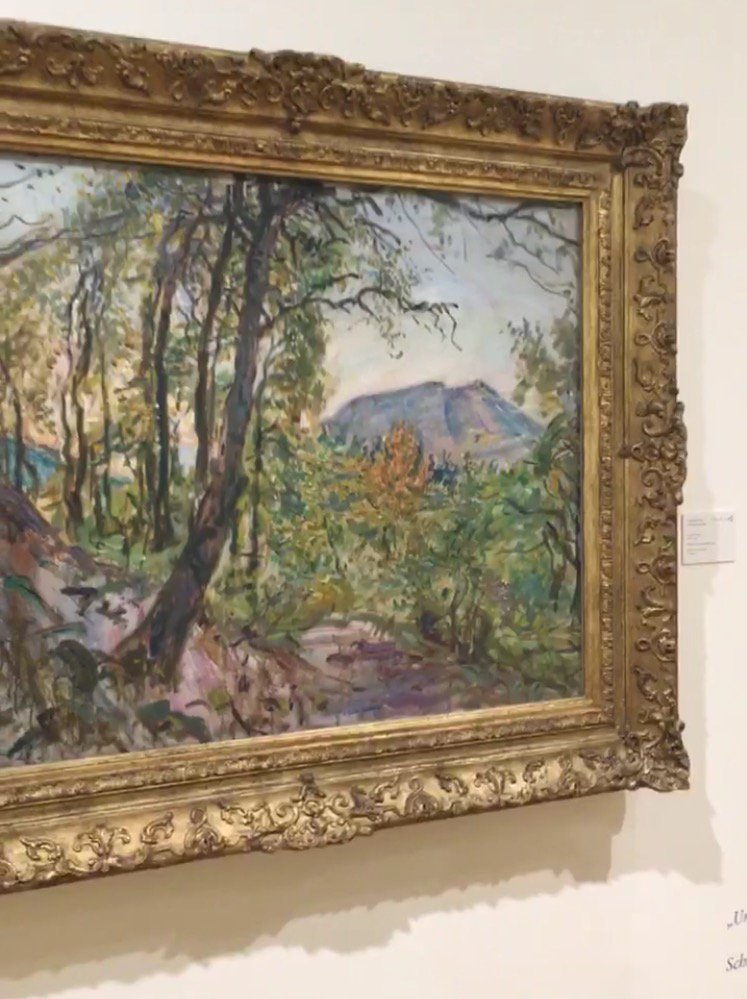 #Impressionismus und triefende Farben gibt es mit #MaxSlevogt auch in der Pfalz #wirziehnfallera #UnterfreiemHimmel_ka https://t.co/epCjDHQZk1