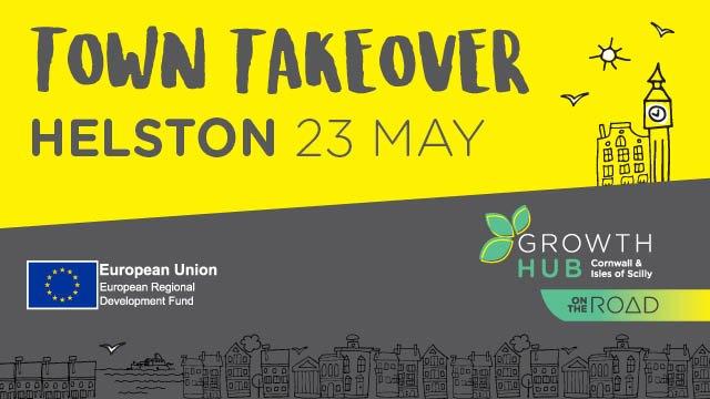 Try our taster day of workshops in Helston #TownTakeover on social media, recruitment, customer service &amp; grants  https:// goo.gl/H2vpWM  &nbsp;  <br>http://pic.twitter.com/orXK7sZ5gl