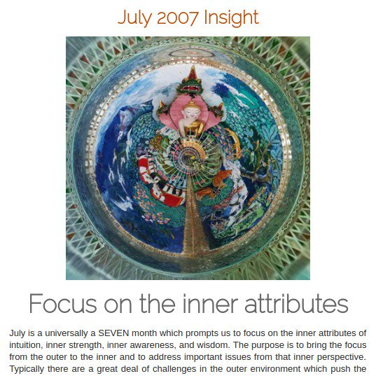 #Spiritual888 200707 #Insight #Focus on #InnerAttributes #transition #environment #innergifts #wisdom #strength See:  https:// spiritual888.jimdo.com/insight/2007/  &nbsp;  <br>http://pic.twitter.com/VESQsAn1yA