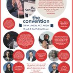 1 week on, I'm v proud to have been part in @The_Convention_  Key messages 1) Always participate b) Don't be cynical c) Register to vote