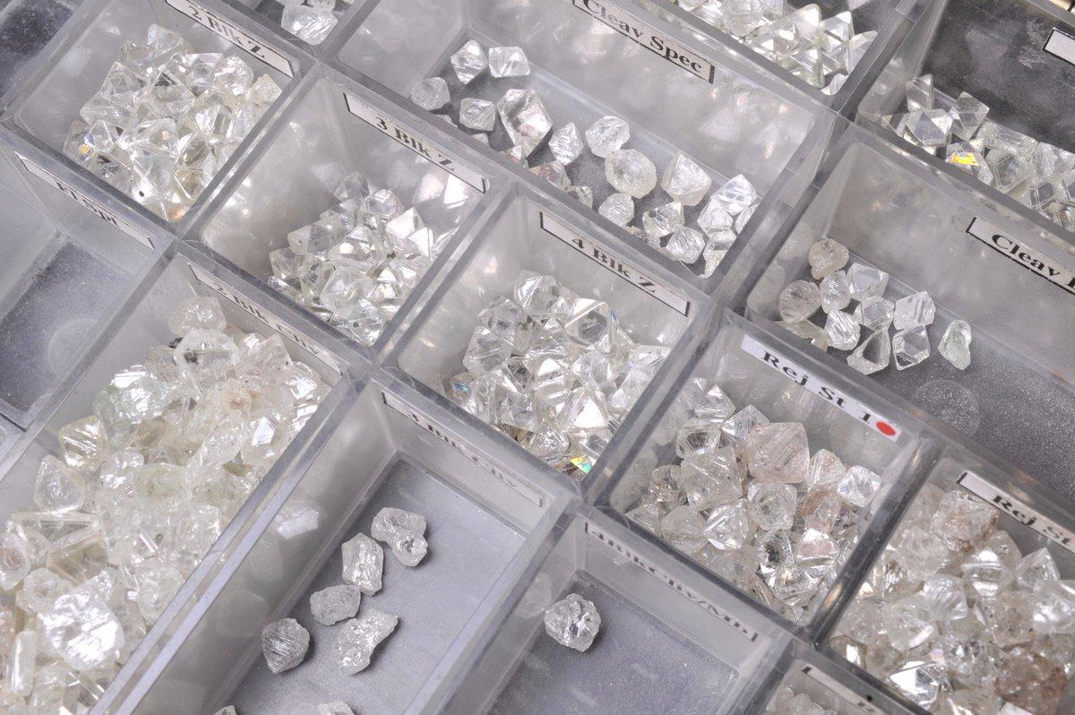 Sorting of diamonds