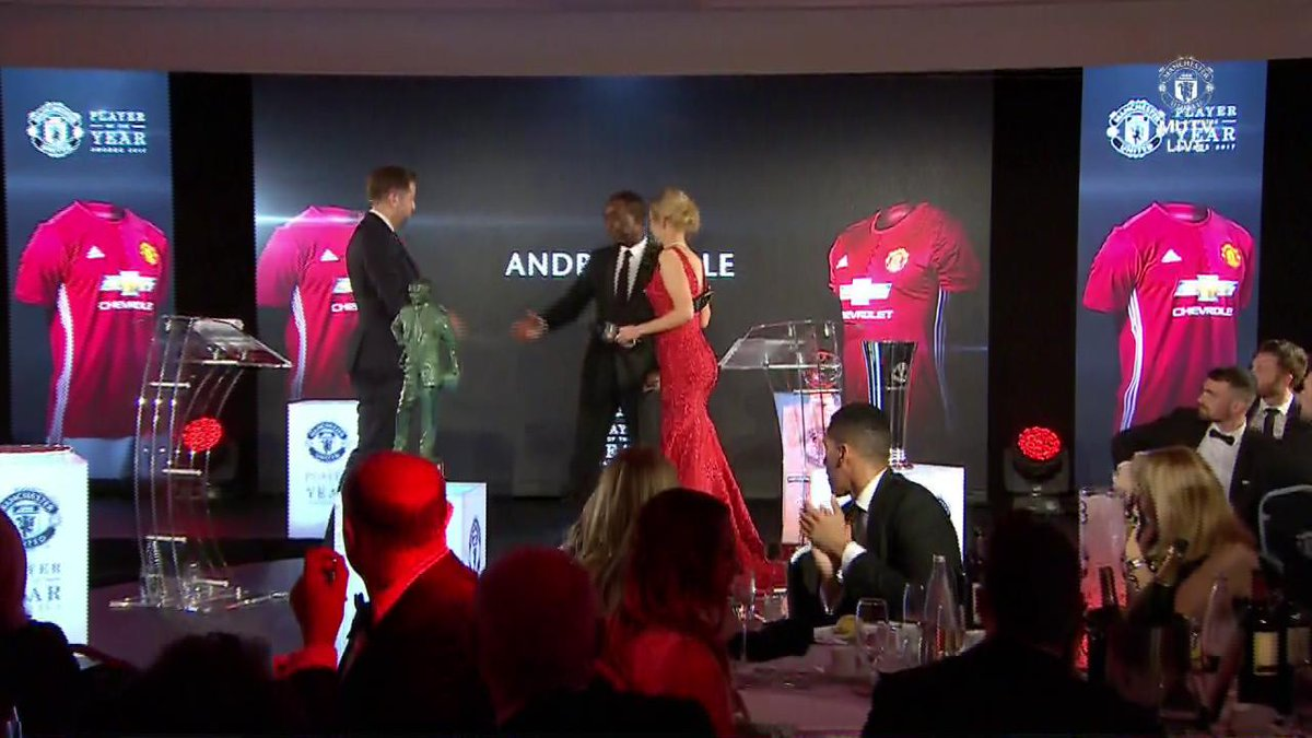Great to hear this positive update from @vancole9 at last night's #MUFCPOTY ceremony 💪