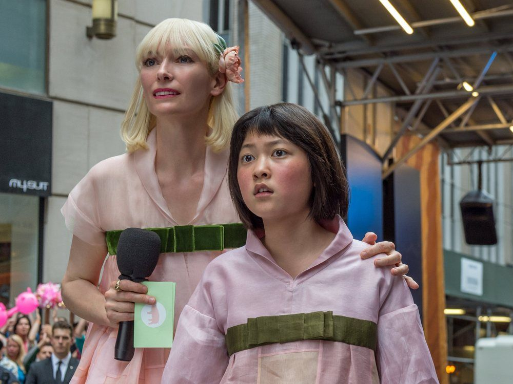 #Cannes review: Bong Joon-ho's superpig drama #Okja mixes artfully unhinged spectacle with meat-biz reality check  http:// buff.ly/2qZeVk6  &nbsp;   <br>http://pic.twitter.com/BsdvuHr8rp