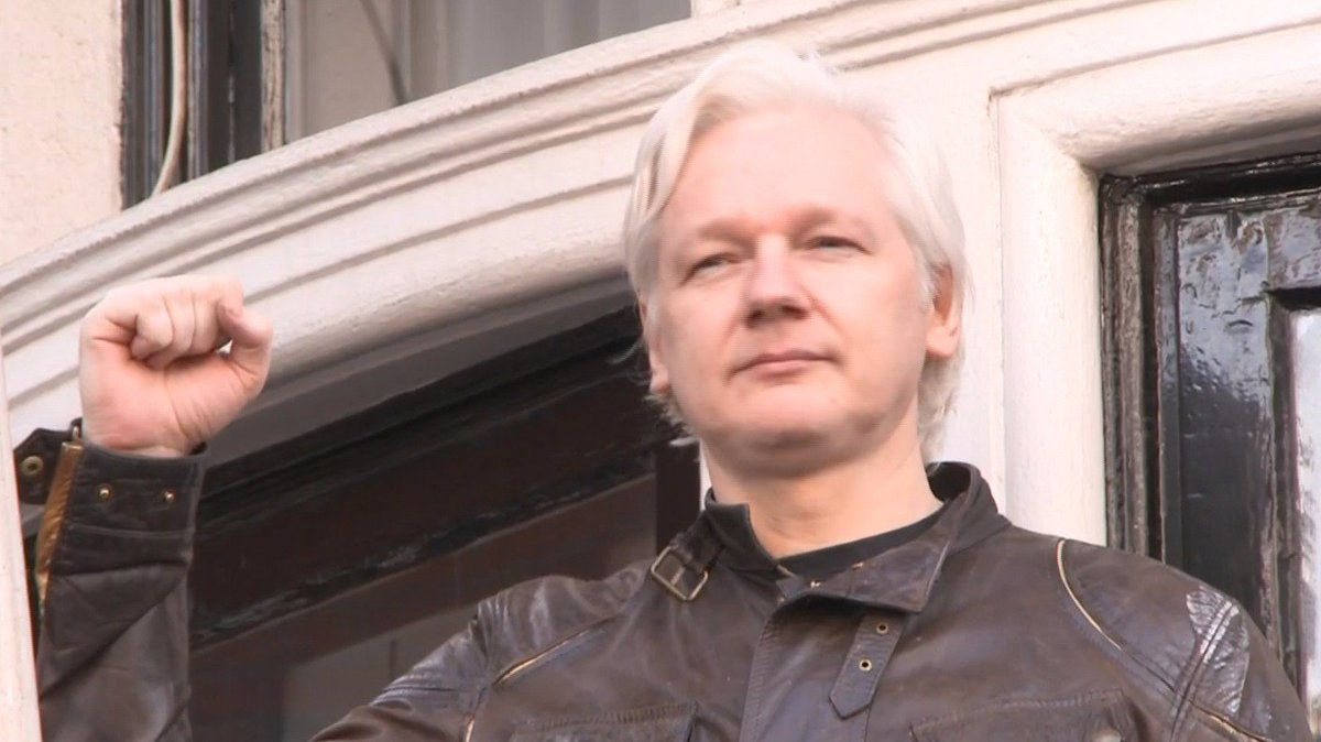 Julian Assange hails 'victory' as Swedish prosecutors drop rape probe against him but says 'war is just commencing'