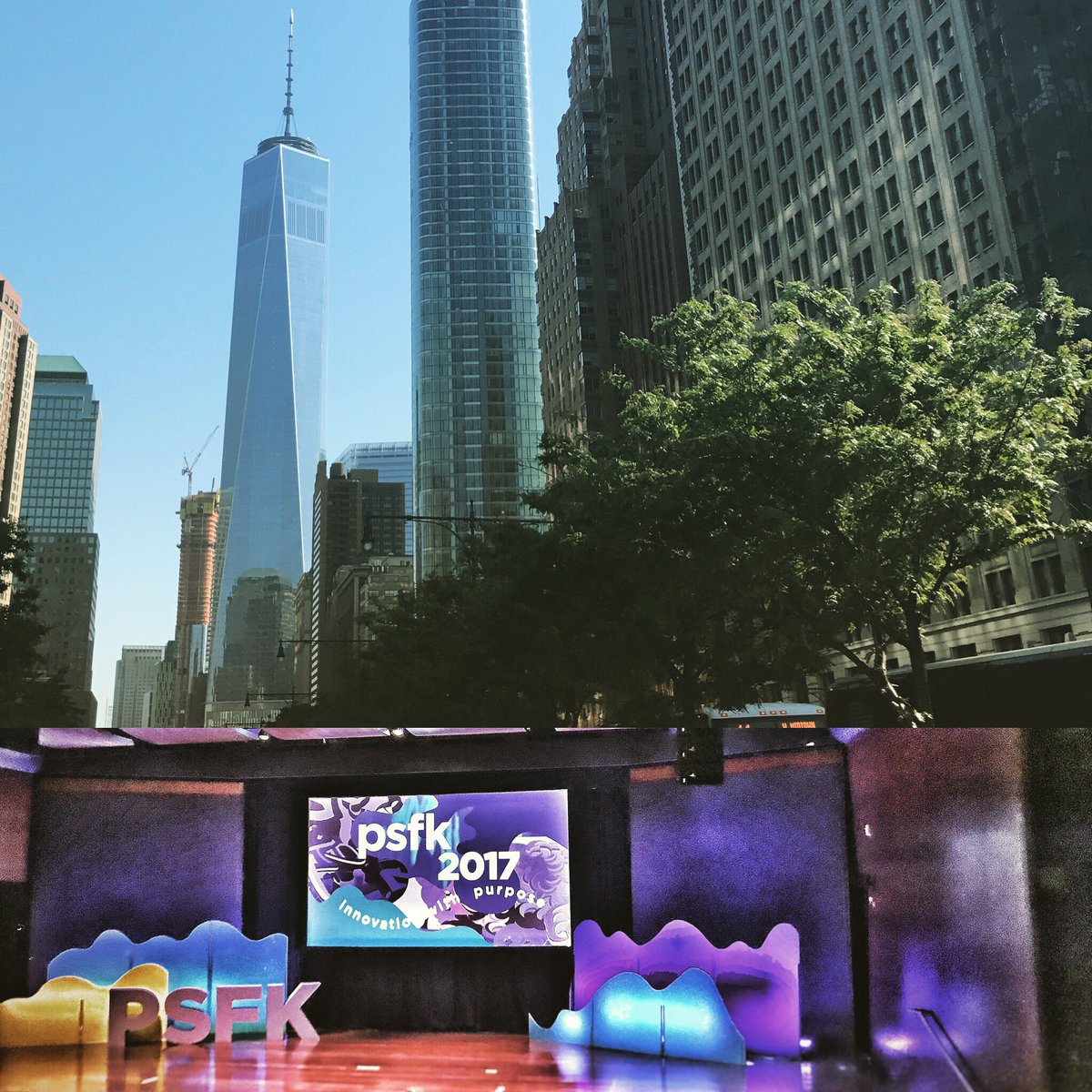 .@PSFK conference today -- great pace and variety of insightful, purpose-driven thinking in the speakers. #psfk2017 <br>http://pic.twitter.com/F0auxoffrf