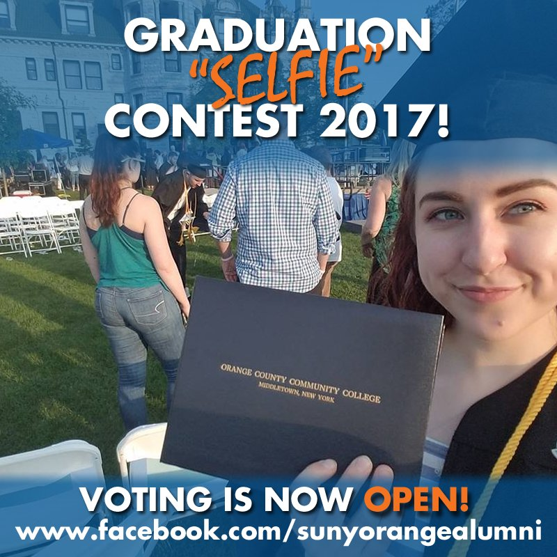 Voting is now open for the finalists of the 2017 Graduation Selfie Contest! Vote for you favorites: https://t.co/tljGDW31ix https://t.co/Zs344HUCOi