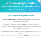 Angular Page Loader Directive