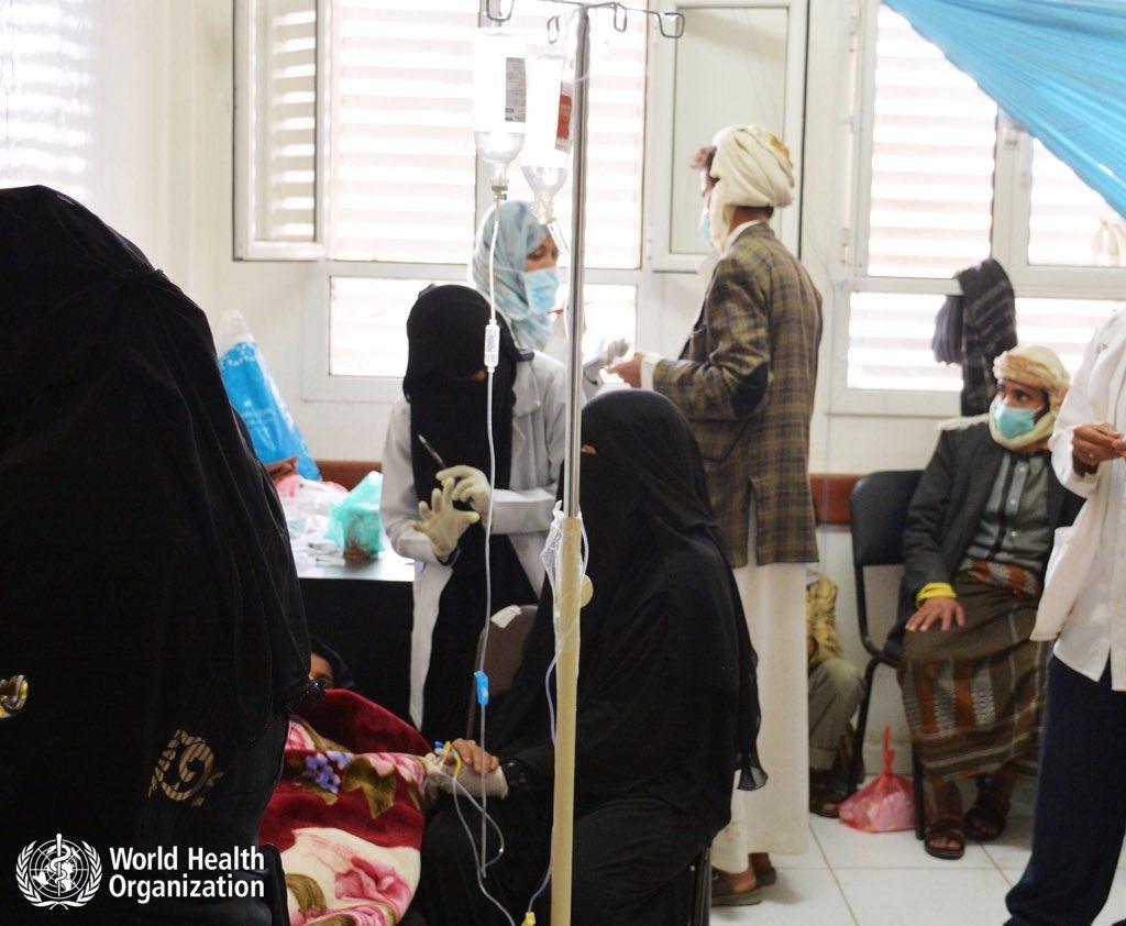 Cholera kills 242, infects 23.500 people in Yemen in three weeks