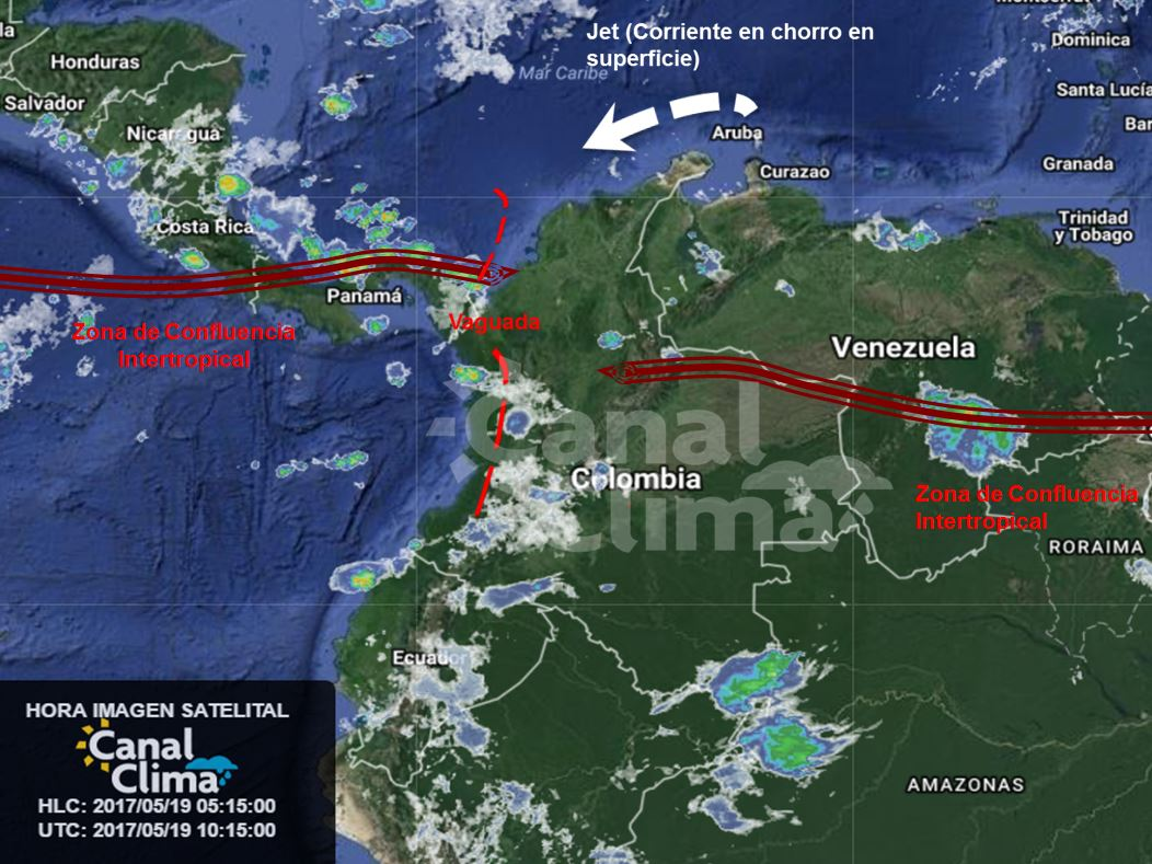 Pronóstico meteorológico para Colombia - 19 de mayo de 2017  https://t.co/jSk5bvpL92 https://t.co/xIf1jrfDvA