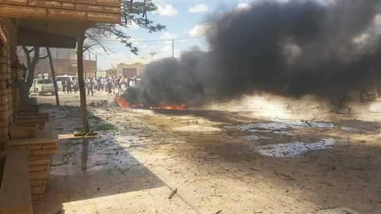 Awaqir tribe leader Braik Al-Lwati killed in car bomb explosion outside Bilal Mosque in Suluq town,53km southeast of Benghazi