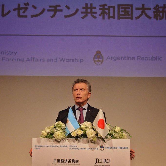 """Macri, a los CEOs japoneses: """"Es difícil que encuentre un pa"""