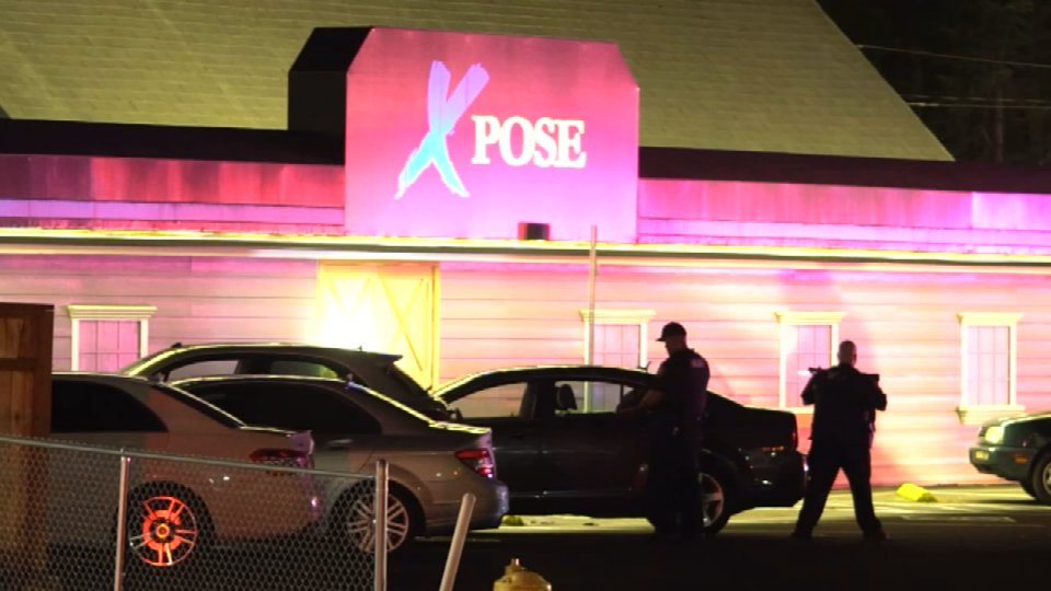 Beaverton: Shot and killed a man outside a strip club. The scene at the Xpose strip club at 10140 Southwest Canyon Road