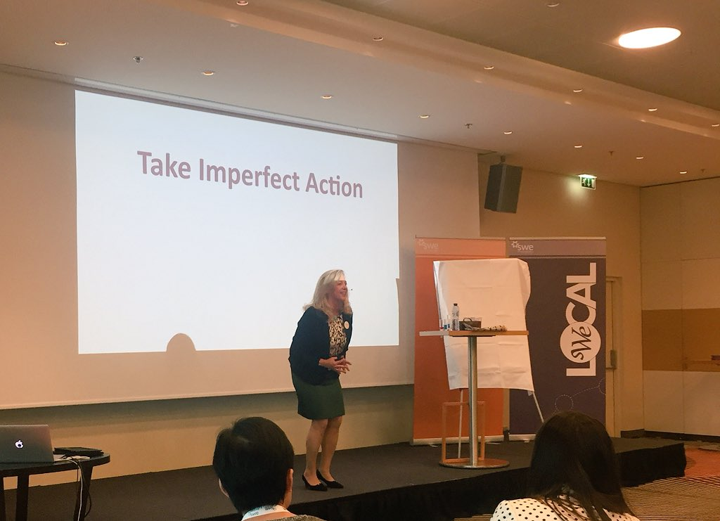 &quot;Going forward with your idea when it is GOOD enough. Go forward with a tiny aspect of imperfection.&quot; #WEAmsterdam @ReneeMooreBiz<br>http://pic.twitter.com/uIBF3sv87s