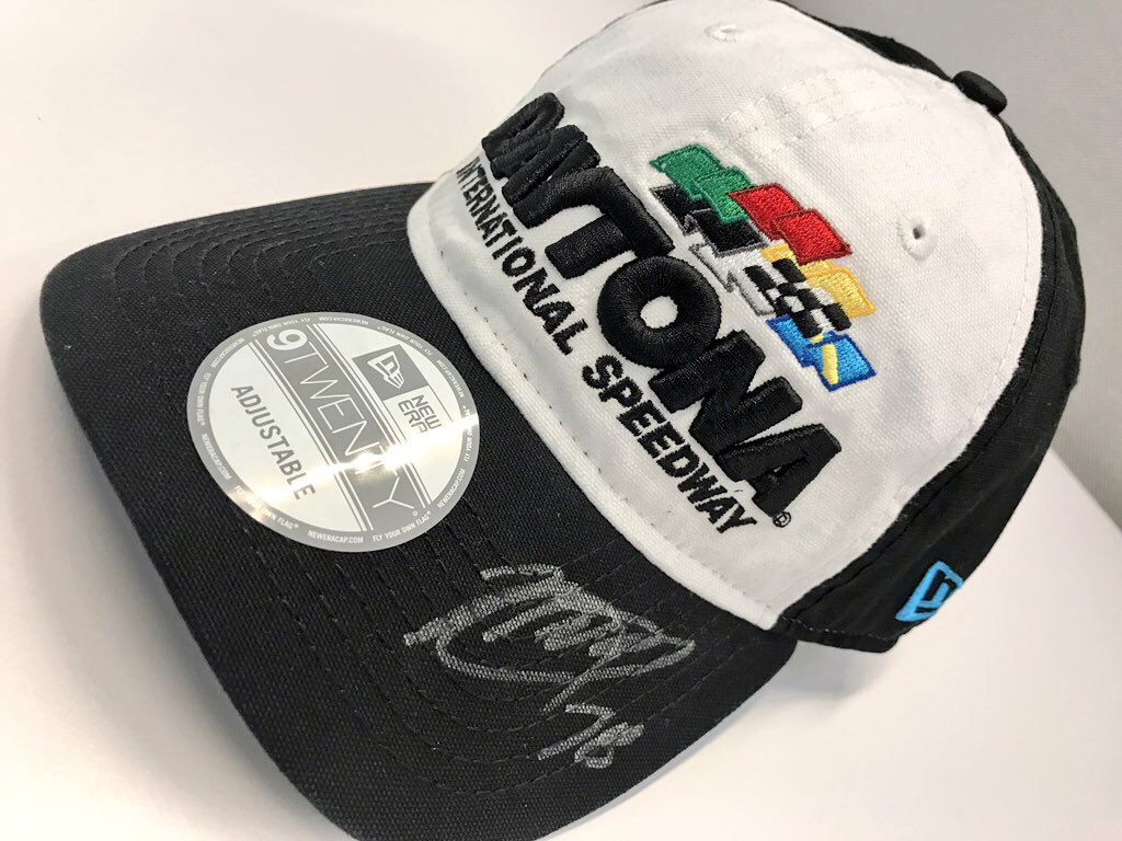 We're celebrating #NASCARDay! 🏁  RETWEET for your chance to win a @DISupdates hat signed by @MartinTruex_Jr! We'll pick a winner at 5pm ET!