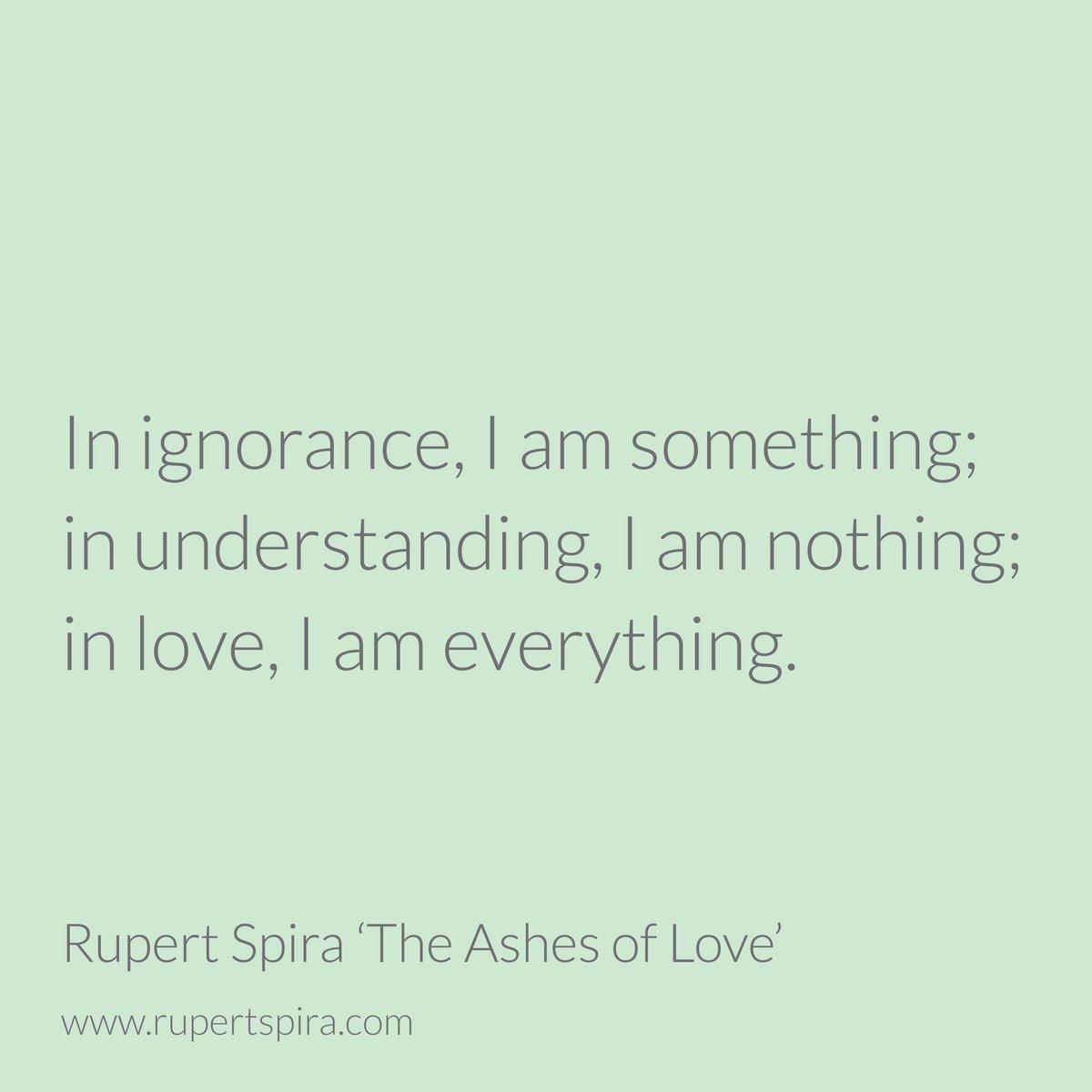 ashes of love rupert spira pdf