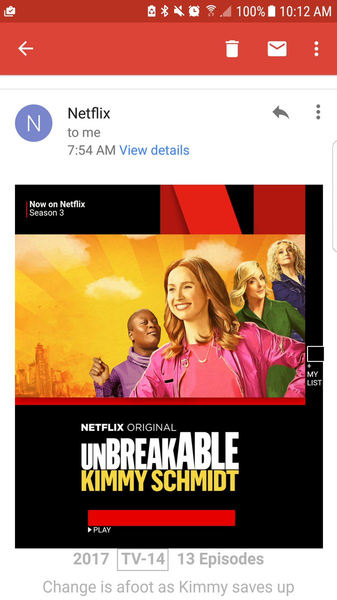 Cause females are strong as hell! #UnbreakableKimmySchmidt <br>http://pic.twitter.com/2s3tlCbLw8