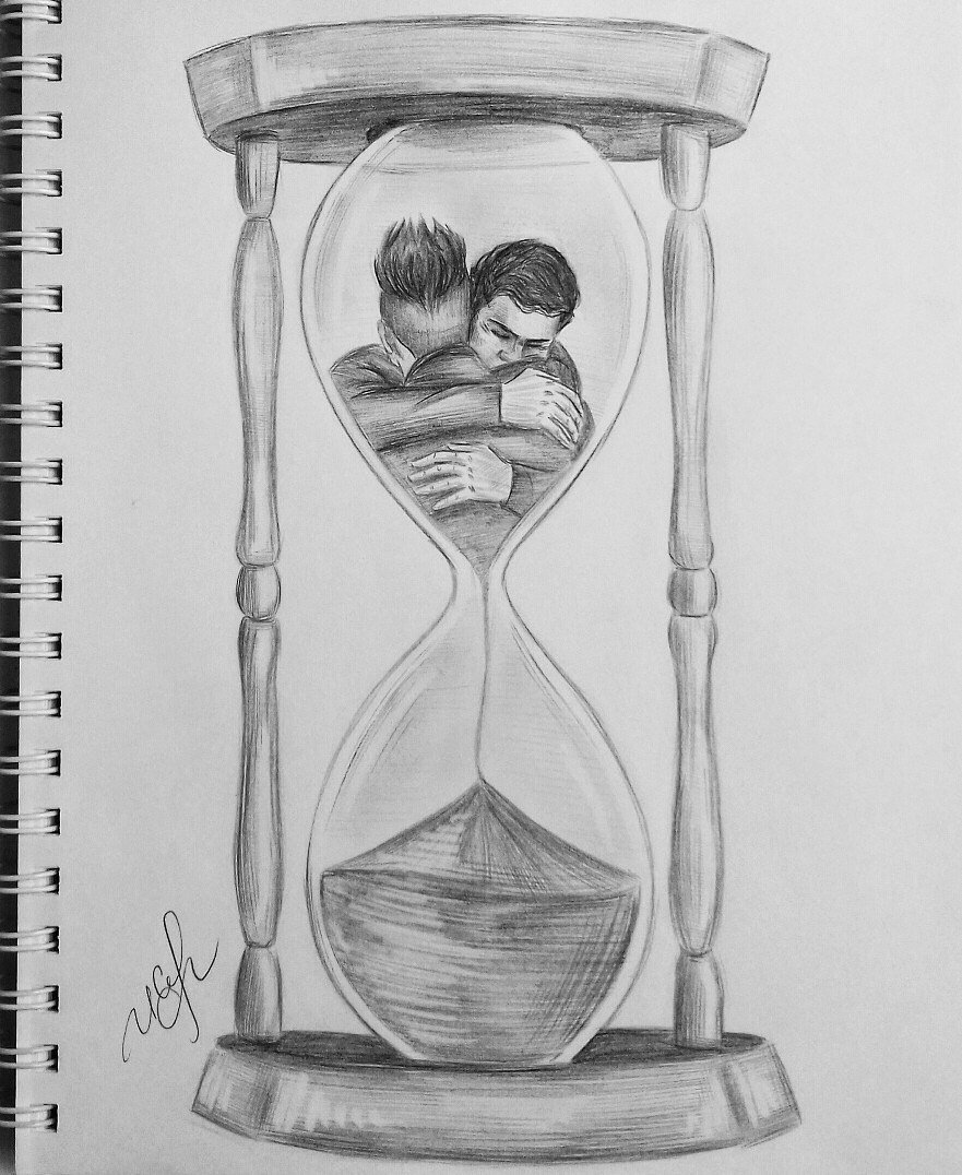 The most ruthless thing in the world is time. It gives us to understand that there is a limit. #Malec #Shadowhunters #love #sketch #art<br>http://pic.twitter.com/u8ZGGKYSi3