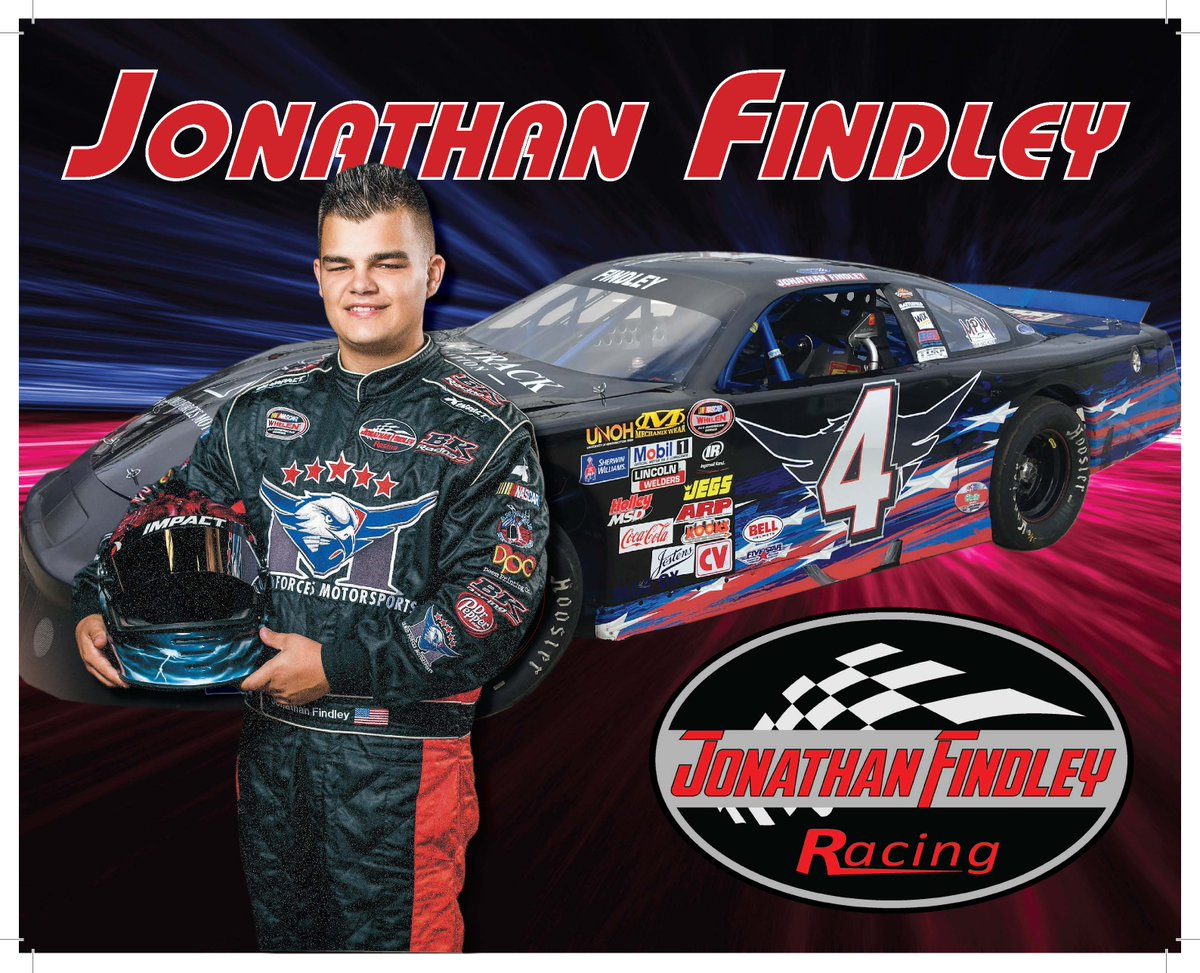It&#39;s #NASCARDay! Shoutout to our very own #JonathanFindley! Catch him next Sat @SNM_Park @JFindleyRacing @NASCAR #Whelen #BKRacing #Safeware<br>http://pic.twitter.com/v5WccufpWN