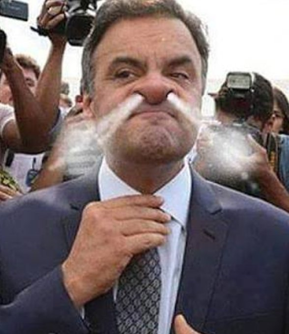 Aécio Neves no Flamengo