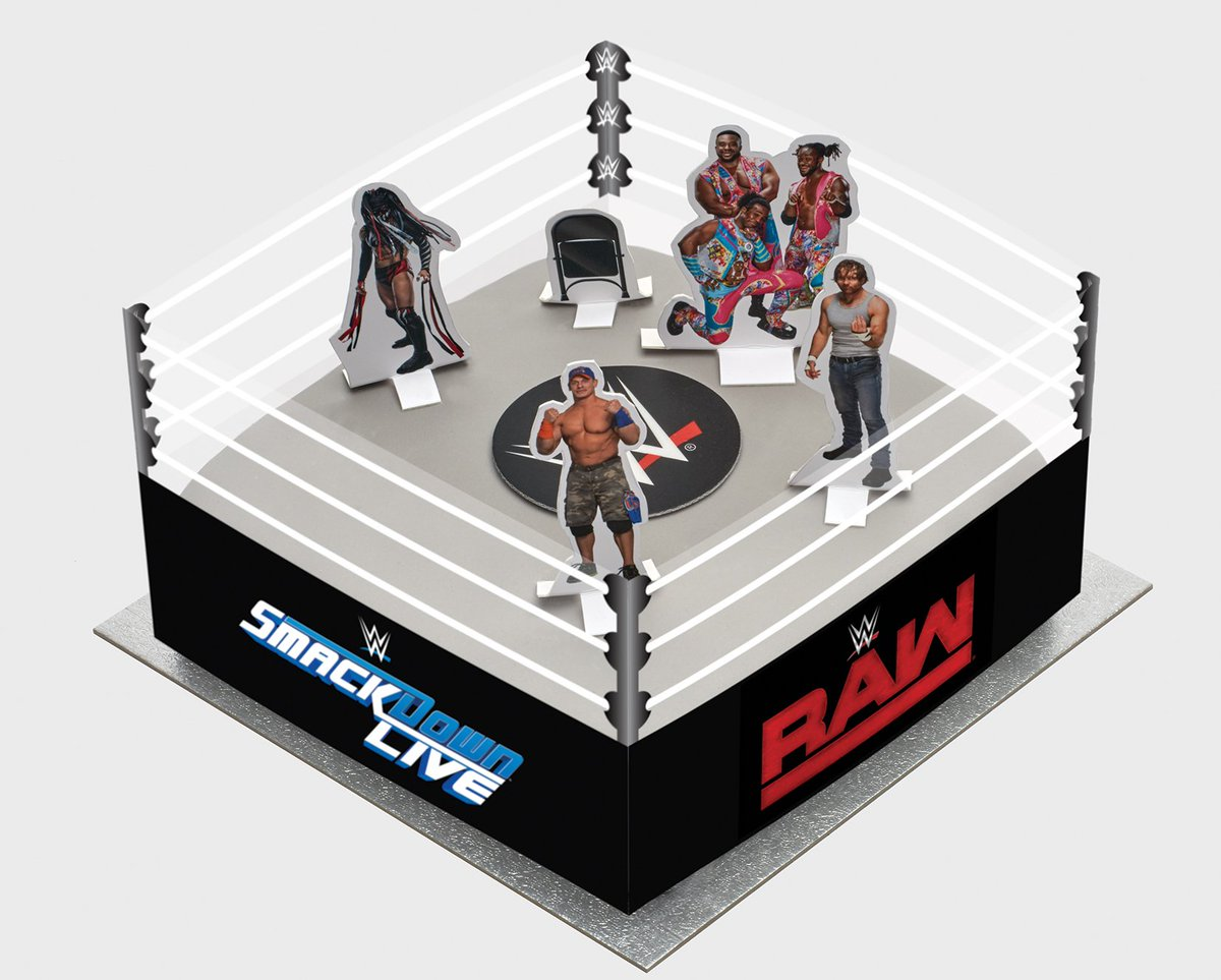 Wondrous Wwe Uk On Twitter The All New Wwe Birthday Cake Is Now Available Funny Birthday Cards Online Alyptdamsfinfo