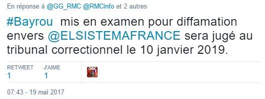 Moralisation Politique : #JUSTICE - #Bayrou   <br>http://pic.twitter.com/dwBEVAGVfE