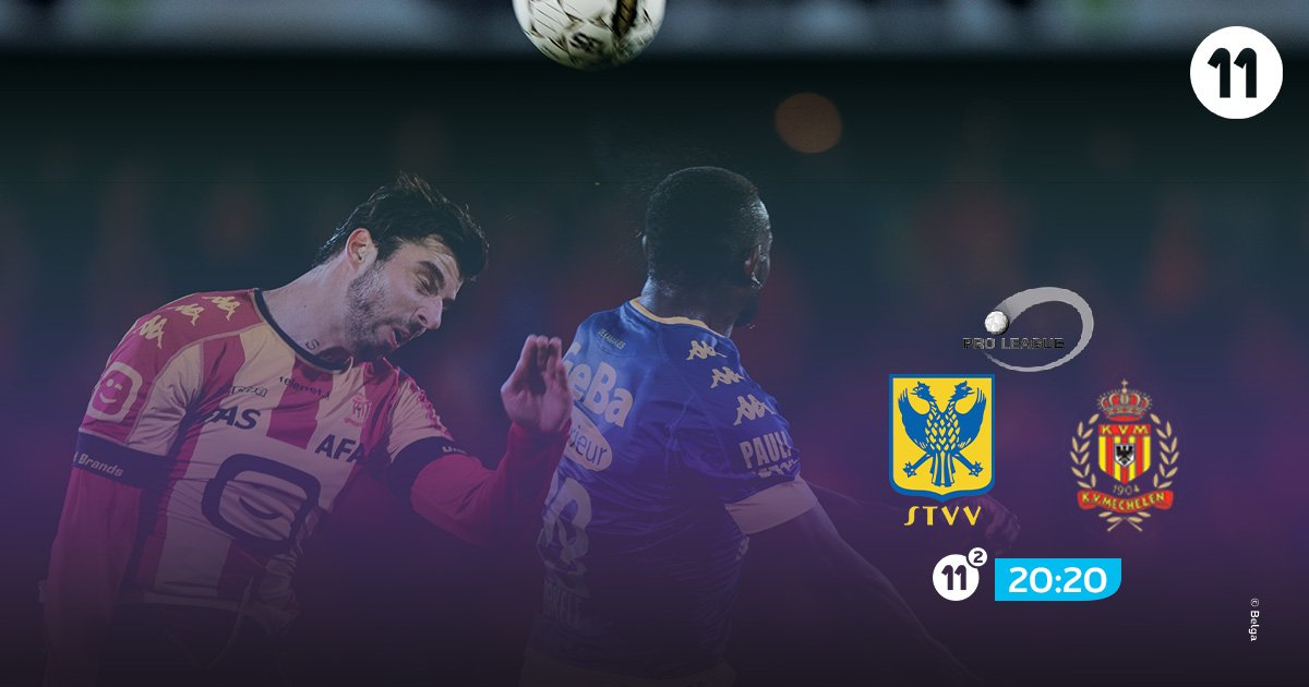 .@stvv has to avoid a 0-6-defeat against @kvmechelen and it will win Play-off 2 A. #pxs11 #stvvkvm<br>http://pic.twitter.com/NtYmNAsDvx